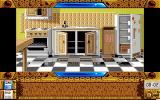 Explora III: Sous le signe du serpent Amiga Your apartment's kitchen