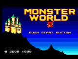 Sega Ages 2500: Vol.29 - Monster World: Complete Collection PlayStation 2 Monster World II - Sega Mark III Title