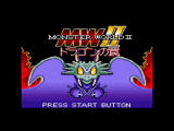Sega Ages 2500: Vol.29 - Monster World: Complete Collection PlayStation 2 Monster World II - Japanese Game Gear Title