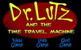 Dr. Lutz and the Time Travel Machine Windows Main game screen