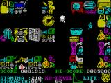Paws ZX Spectrum The junkyard