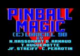Pinball Magic Amstrad CPC Loading screen