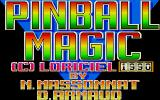 Pinball Magic Atari ST Loading screen
