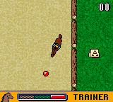 Wendy: Der Traum von Arizona Game Boy Color Level 2 is dressage training. Follow a certain line at the right speed. A trainer shows you how to do it.