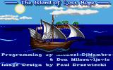 The Island of Lost Hope Amiga Title screen