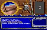 The Island of Lost Hope Amiga Game start - stranded on the island