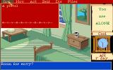 Mortville Manor Amiga A room and the inventory menu