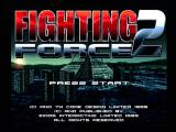 Fighting Force 2 Dreamcast Title Screen