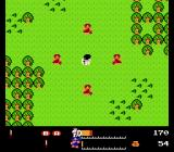 Valkyrie no Bōken: Toki no Kagi Densetsu NES Surrounded by enemies.