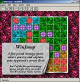 WinGenius Windows 3.x WinJump also is only tantalizingly suggested.  What fun hours might be whiled away on this lovely gameboard?