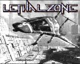 Lethal Zone Amiga Title screen