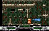 Lethal Zone Amiga First level - destroying obstacles