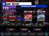 NBA Live 99 Windows Main menu
