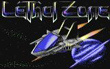 Lethal Zone Commodore 64 Title screen