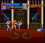 Super Double Dragon SNES The last boss!