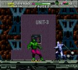 The Incredible Hulk SNES The Absorving Man