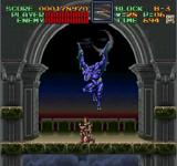 Super Castlevania IV SNES Blue enemy