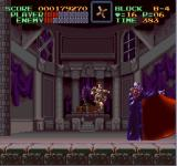 Super Castlevania IV SNES The final battle