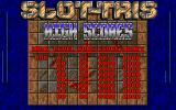 Slot-Tris DOS High score table