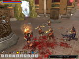 Jade Empire: Special Edition Windows Fighting against the emperor's warriors.