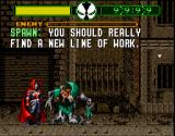 Todd McFarlane's Spawn: The Video Game SNES Nobody puts Spawn in the corner...