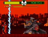 Todd McFarlane's Spawn: The Video Game SNES The final battle
