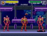 Marvel Super Heroes in War of the Gems SNES Iron Man versus Iron Man versus Iron Man