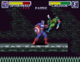 "Marvel Super Heroes in War of the Gems SNES Captain says: ""i hate smokers"""