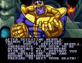 Marvel Super Heroes in War of the Gems SNES Thanos