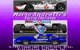 Mario Andretti's Racing Challenge DOS Title Screen (MCGA)