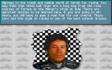 Mario Andretti's Racing Challenge DOS Mario Andretti welcomes you...(MCGA)