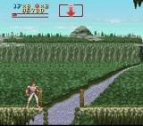 Run Saber SNES Great view