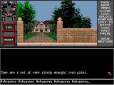...A Personal Nightmare Amiga Mansion gates