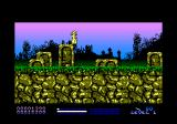Stryker in the Crypts of Trogan Amstrad CPC Jumping after being hit