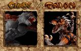 Primal Rage DOS The Matchup