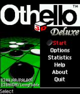 3D Othello Deluxe J2ME Main game screen