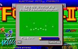 John Madden Football II DOS Doc Check
