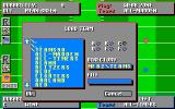 John Madden Football II DOS Loading the Team