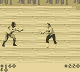 Pit-Fighter Game Boy Standoff
