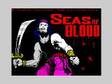 Seas of Blood ZX Spectrum Title screen