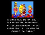 Sítio do Picapau Amarelo SEGA Master System Sr. Snails tells the kids which ingredients are needed to make the medicine