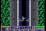 Turrican Amiga Falling down a shaft