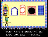 Castelo Rá-Tim-Bum SEGA Master System The level door puzzle
