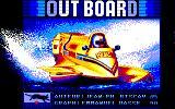 Out Board Amstrad CPC Title Screen