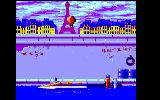Out Board Amstrad CPC You have swimmed to you boat...Now you may chase the opponent...