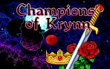 Champions of Krynn Amiga Title screen