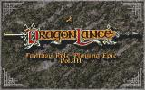 The Dark Queen of Krynn Amiga Dragonlance screen