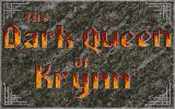 The Dark Queen of Krynn Amiga Title screen