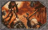 The Dark Queen of Krynn Amiga Loading screen