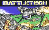 BattleTech: The Crescent Hawk's Inception Commodore 64 Title screen